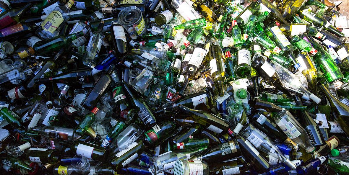 Le verre se recycle à l'infini !